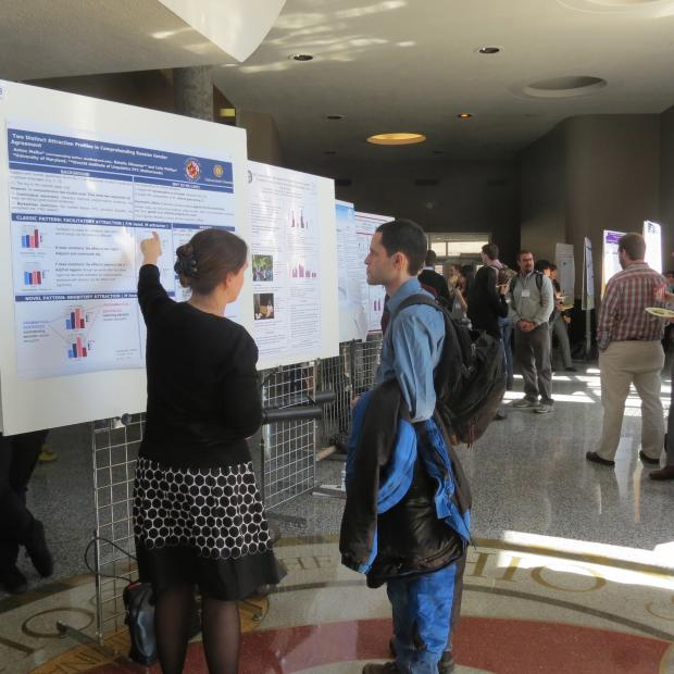 Poster Session in Mershon Lobby