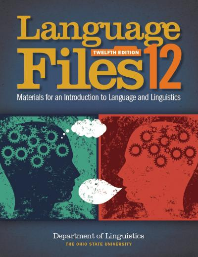 Cover of Language Files 12th edition