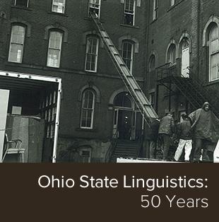 Ohio State Linguistics: 50 Years