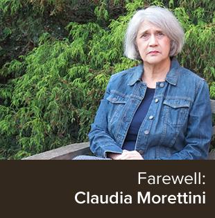 Photo of Claudia Morettini