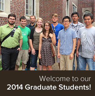 New Graduate Students from 2014